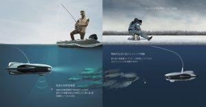 fishing dive robot