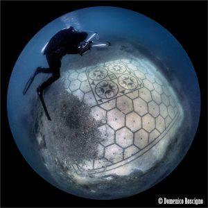 Protiro villa underwater mosaic