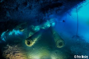 ship guns underwater