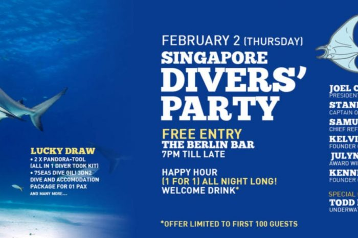 Singapore Divers' Monthly Party (Feb 2, 2017): Todd Essick Named As Special Guest Speaker