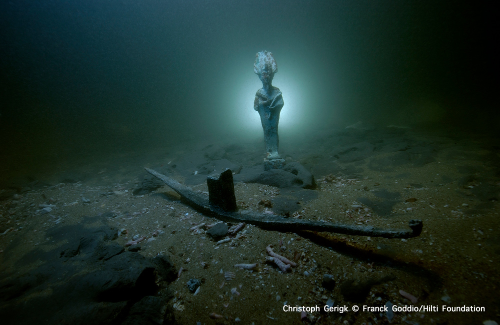 The Lost City Of Thonis Heracleion Underwater360
