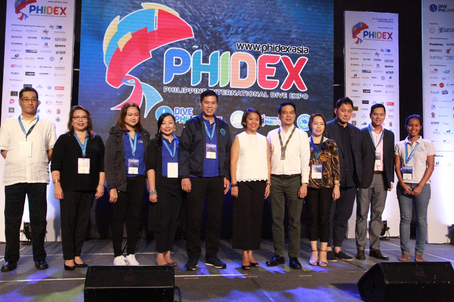 PHIDEX Opening Ceremony Group Photo