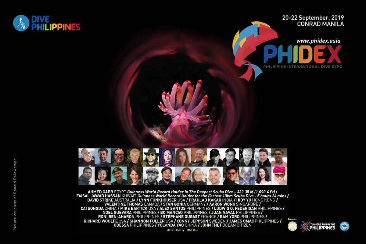 PHIDEX Speakers Poster