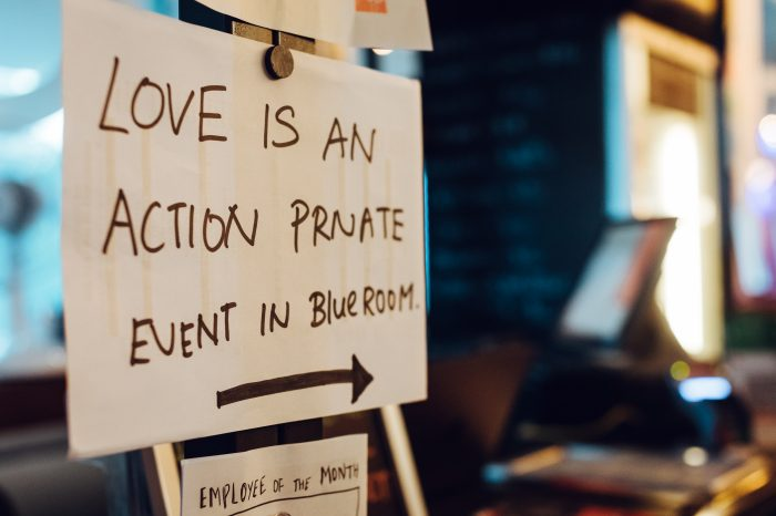 Love Is An Action; Start caring about Marine Pollution right now