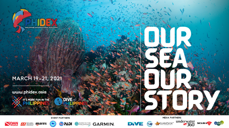 """PHIDEX 2021 """"Our Sea, Our Story"""" Dives into Digital this March 19 to 21!"""
