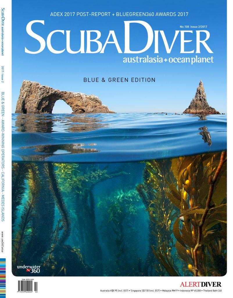 scuba diver cover 2/2017