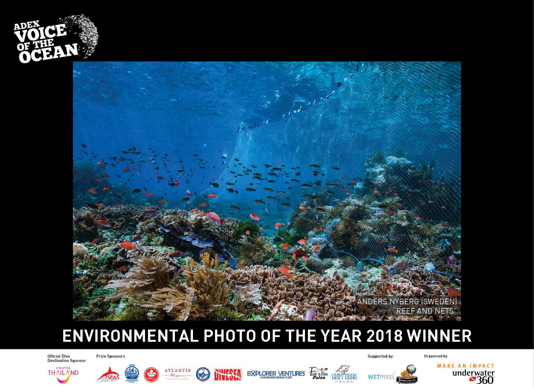 Voice of the Ocean, ADEX 2018, Underwater Photography, Reefs